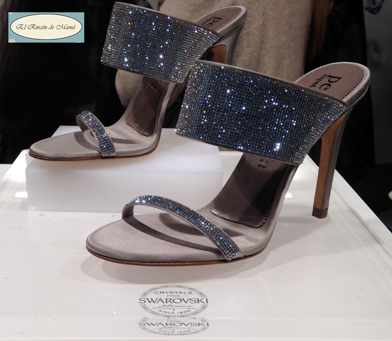 Zapatos Swarovski Mercedes Benz Fashion Week
